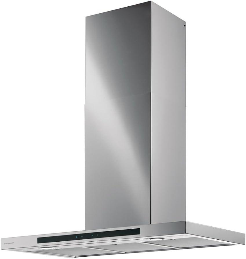 Alta calidad campana de pared verticales * eficiencia energética A */galvamet Mirage 90/A inox/90 cm/LED/Inox/100% Made in Italy: Amazon.es: Grandes electrodomésticos
