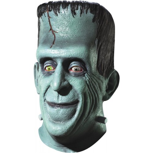The Munster's Herman Mask, Green, One Size