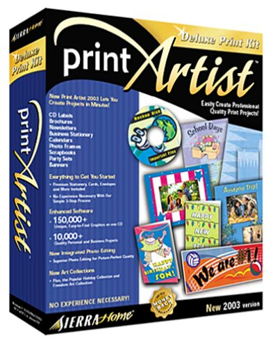 Print Artist Print Kit GoldEdition 2003