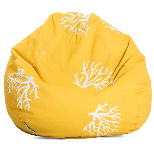 Majestic Home Goods Coral Yellow