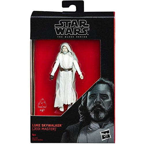 Star Wars 2017 The Black Series Luke Skywalker (Jedi Master) The Last Jedi Action Figure 3.75 Inches