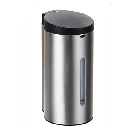 gaojiangang AA Dispensador de Jabón Dispensador de Loción automático de Acero Inoxidable Botella de Jabón de