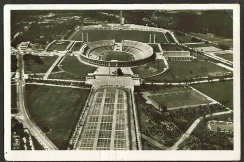 Olympia 1936 Berlin - Olympic Stadium Berlin Germany RPPC 1936 Olympia
