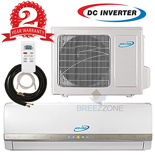 Ductless mini split air conditioner heat pump system for 20 000 btu window air conditioner