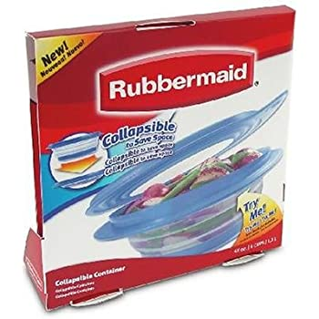 Amazon Com Rubbermaid Fg7g1500cadbl Collapsibles 4 Cup