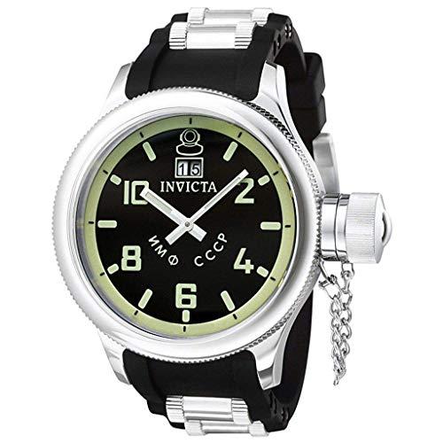 Invicta Men's 4342 Russian Diver Collection Black Sport Watch ()