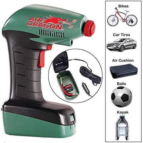 Buyerzone-Air-Dragon-Portable-Car-Air-Compressor-Cylinder-Bike-Car-Cycles-All-Other-Vehicles-Air-Pump-with-Built-in-Led-Light