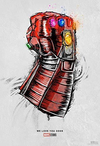 "AVENGERS ENDGAME 13""x19"" Original Promo Movie Poster Special Re-Release Marvel Iron Man Captain American Thor Hulk"
