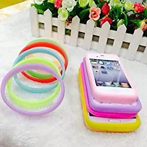 WEV Solid Color Optional Deformation Bumper Frame for All Models Phone(Assorted Color) , Yellow