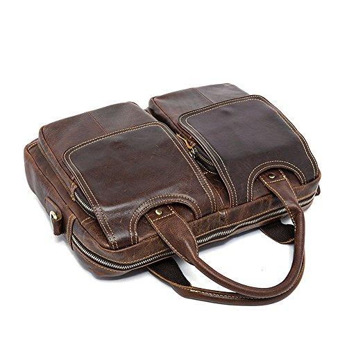 per in il Bag casual uomo Borsa pelle Xiaoqin a per Borsa per uomo adatta a tracolla business Messenger Messenger tracolla AqOTzwq