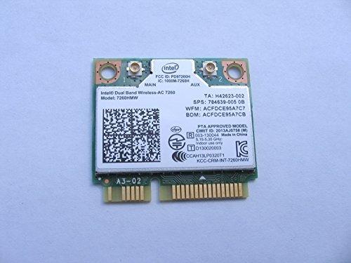 Chip Intel Set Wireless - Intel WiFi Wireless-AC 7260 H/T Dual Band 2x2 AC+Bluetooth HMC Network 7260HMW
