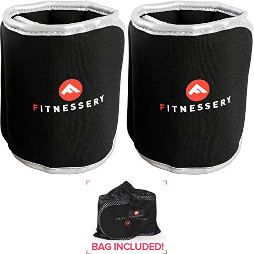 - Fitnessery Ankle Weights (2 Pounds x 2) - Ankle Weights for Women and Men - Wrist Weights for Women and Men - Leg Weights for Women and Men - Arm Workout Exercise Weights - Ankle Weight
