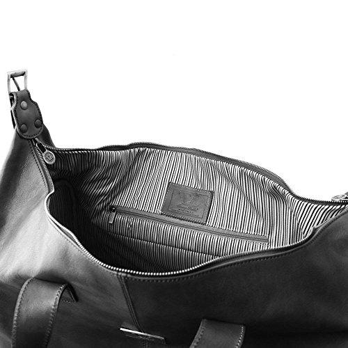 Marrón Unique Hombro Tuscany Piel Al Taille Mujer De Para Bolso Leather 11vgxw8