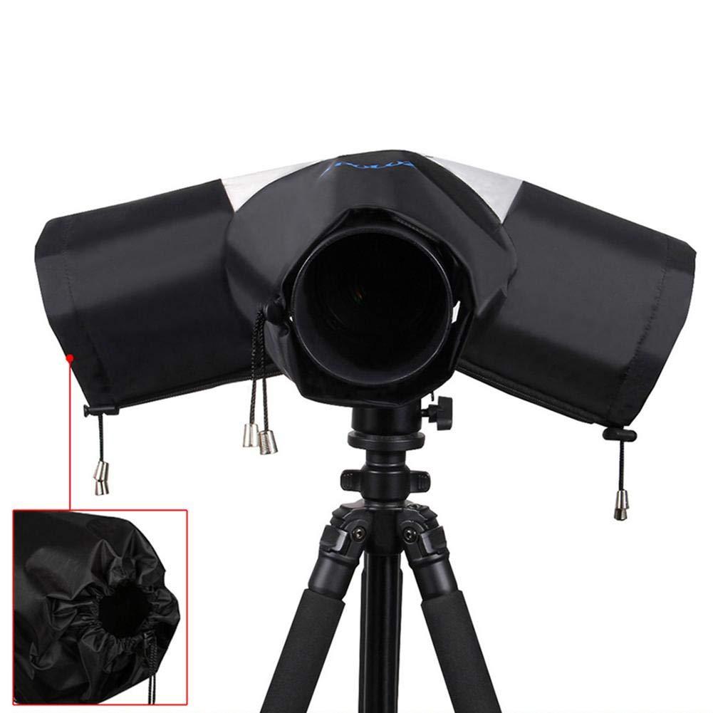 Johlycao Camera Protector Rain Cover, Photo Professional Waterproof Camera Case Rainwear Large Canon, Nikon, Sony other DSLR Cameras, Protect from Rain Snow Dust