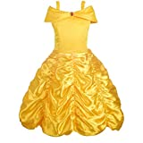 Dressy Daisy Girls' Princess Belle Costumes Princess Dress Up Halloween Costume