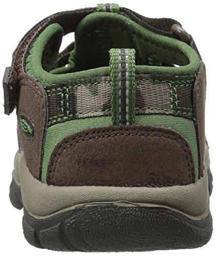 Keen Newport H2, Zapatos de Low Rise Senderismo Unisex Niños Marrón (Cascade Brown Kamo)