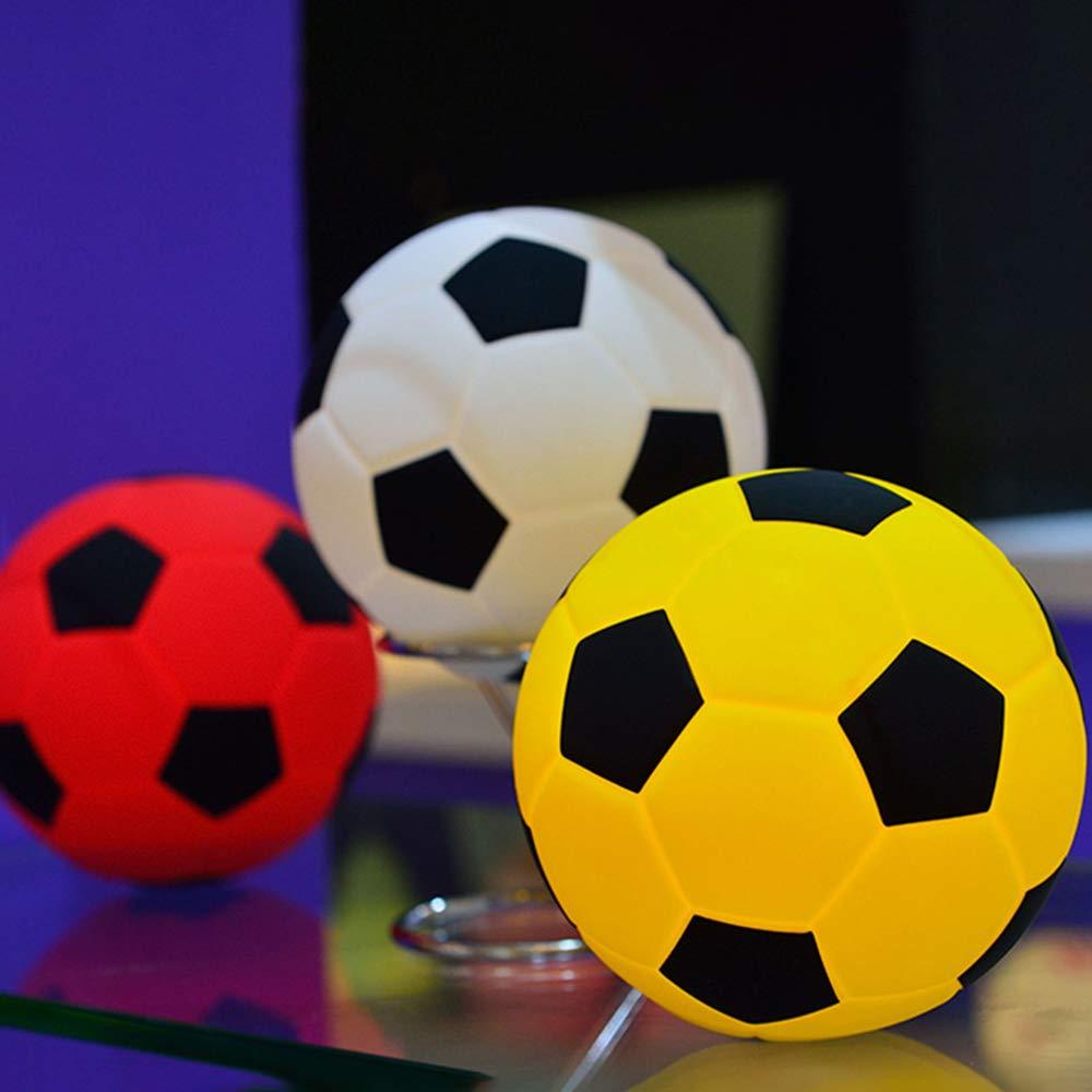 Wankd - Lámpara LED de silicona para niños, diseño de balón de ...