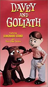 Davey and Goliath: Lemonade Stand, The Shoemaker, Good Neighbor & Bully Up A Tree [VHS]