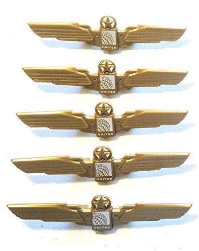 kids-aviator-pilot-wings-plastic-pins-pinbacks-badges-lot-of-5-party-favor-pins