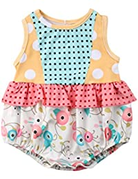 1ad87bd88fa Little Sister Big Sister Matching Outfit Baby Floral Romper Bodysuit Girls  Dress Pants Clothes Set