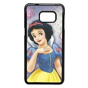 Samsung Galaxy S6 Edge Plus case , disney princess Snow White Cell phone case Black for Samsung Galaxy S6 Edge Plus - LLKK0725524