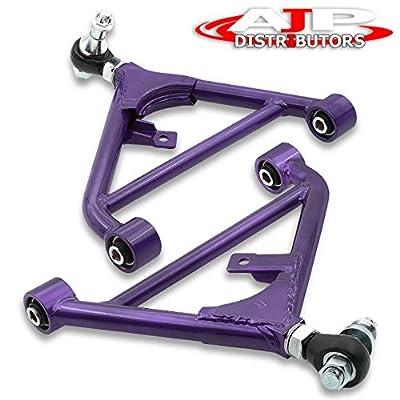 AJP Distributors Rear Lower Control A Arm Lca Adjustable Suspension Performance Purple For Nissan 240Sx S13 S14 300Zx: Automotive