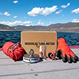 2625lb Double Sided Fishing Magnet Bundle Pack