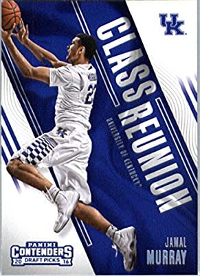 2016-17 Panini Contenders Draft Picks Class Reunion #3 Jamal Murray Kentucky Wildcats Basketball Card