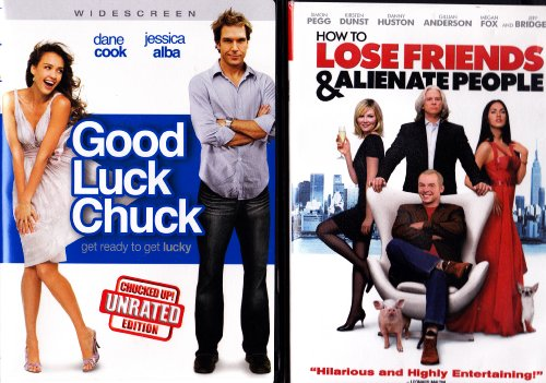 Good Luck Chuck , How to Lose Friends & Alienate People : Comedy 2 Pack Collection