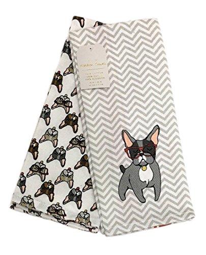 french bulldog kitchen towel - 6
