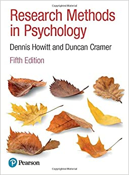 Book Research Methods in Psychology
