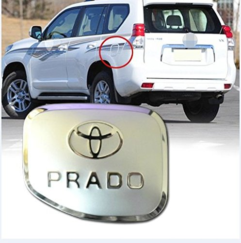 fuel gas cover tank cap chrome trim for 2003 2004 2005 2006 2007 2008 2009 toyota prado cruiser. Black Bedroom Furniture Sets. Home Design Ideas