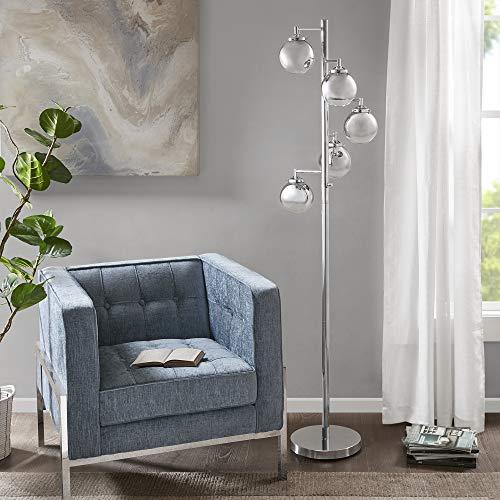 Brilliant Madison Park Mp154 0181 Barton Floor Lamp Modern Luxe Tall Theyellowbook Wood Chair Design Ideas Theyellowbookinfo