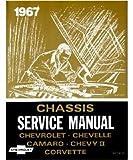 1967 CAMARO CHEVELLE CHEVY II CORVETTE Service Manual