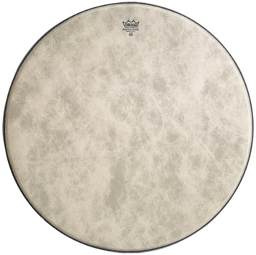 - Remo FA-1526-00 26-Inch Fiberskyn 3 Ambassador Bass Drum Head