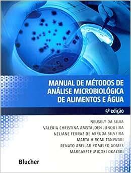 Manual de Métodos de Análise Microbiológica de Alimentos e