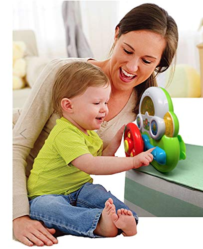 Busy Driver, Baby Piano Toy Bundle- New Moms Infant Toy Gifts for 6 Months, Toddlers and 1 Year olds