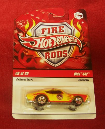 Hot Wheels FIRE RODS: OLDS 442 (#8 of 26) - 1/64 scale diecast car