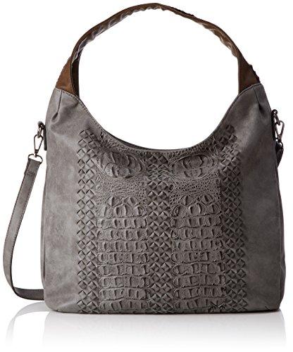 Pochette Sansibar, sacs à bandoulière pour femme, gris (asphalte)