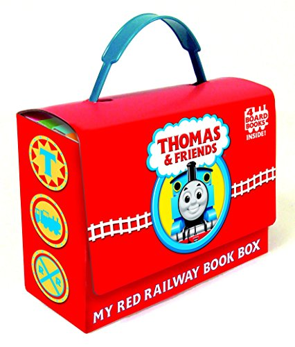 Thomas and Friends: My Red Railway Book Box (Bright & Early Board ()