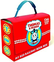 Thomas and Friends: My Red Railway Book Box (Thomas & Friends): Go, Train, GO!; Stop, Train, Stop!; A Crac
