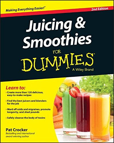 Juicing Smoothies Dummies Pat Crocker product image