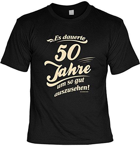 T-Shirt - Es dauert 50 Jahre um so gut auszusehen - cooles Shirt mit lustigem Spruch als ideales Geburtstagsgeschenk