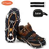 Best Crampons - Sfee Ice Snow Grips Crampons Traction Cleats Spikes Review