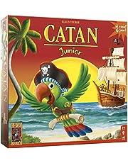 999 Games - Catan Junior Bordspel - vanaf 6 jaar - Een van de beste spellen van 2009 - Klaus Teuber - voor 2 tot 4 spelers - 999-KOL23B