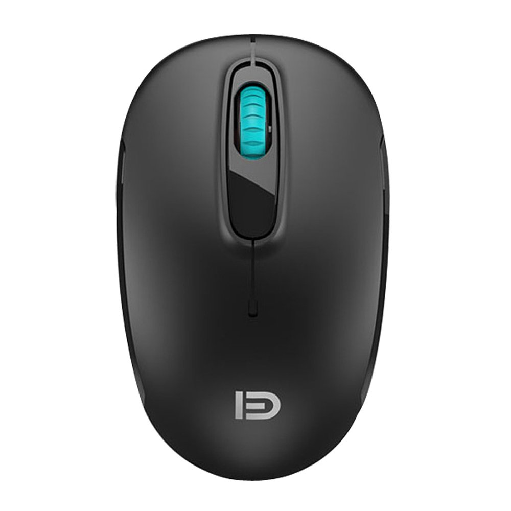 ed69cacd34b Forter M510 2.4G Mobile Mini Silent Mute Wireless Mouse Optical Mice with  USB Receiver 1600 DPI 3 Buttons for Notebook, PC, Laptop, Computer, Macbook  Black