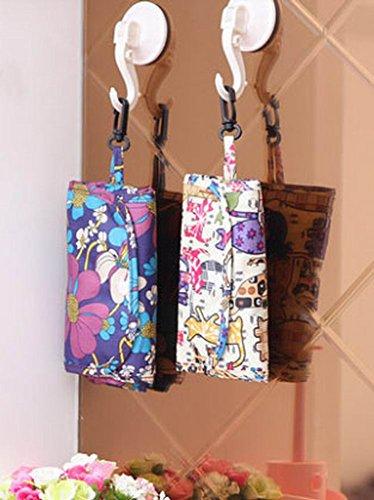 Faltbare wiederverwendbare Tasche Einkaufstasche Einkaufstasche ZJKoEaR