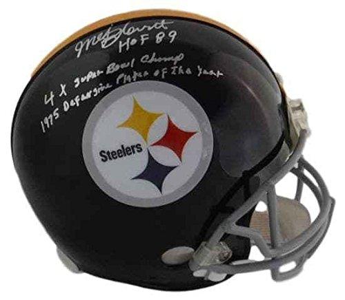 Mel Blount Autographed Helmet - Fs Tb Proline 3 Insc 19977 - JSA Certified - Autographed NFL Helmets
