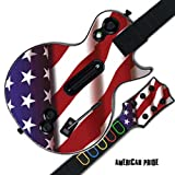 Mightyskins Protective Skin Decal Cover Sticker for GUITAR HERO 3 III PS3 Xbox 360 Les Paul - American Pride