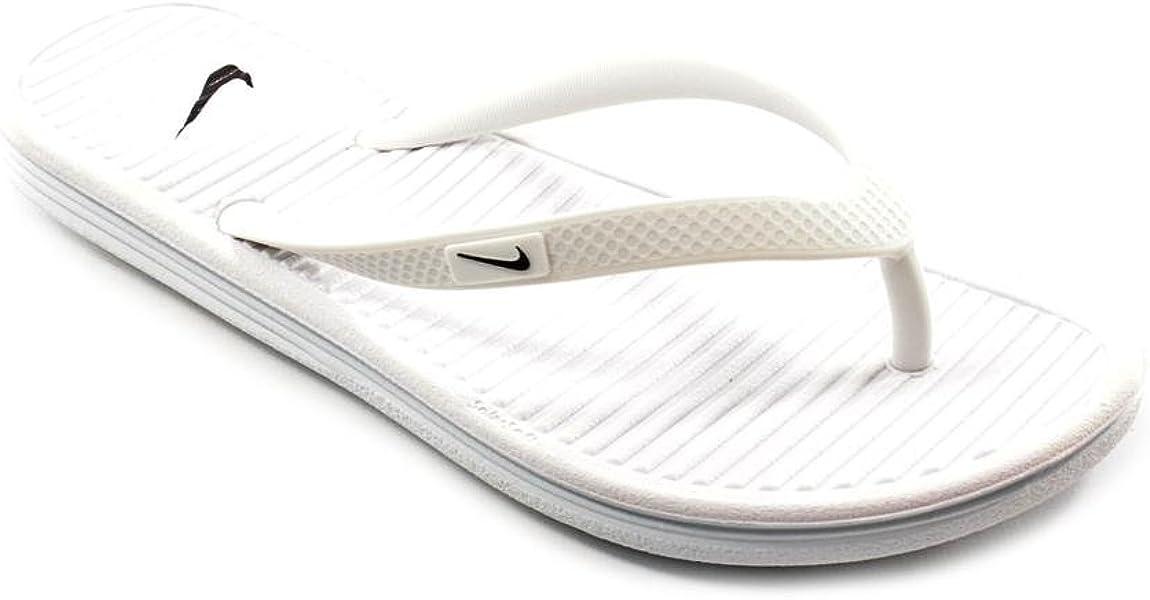 huge discount 9dbbb b5193 Women s Solarsoft Thong 2 Athletic Sandal. Nike White Solarsoft Flip-Flops  - Women Size 5